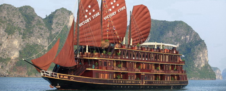 2 DAYS 1 NIGHT HALONG BAY CRUISE WITH VICTORY STAR CRUISE