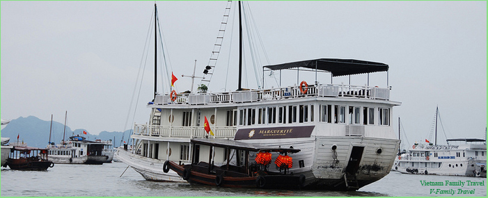 2 DAYS 1 NIGHT HALONG CRUISE ON MARGUERITE & MARGUERITE GARDEN CRUISES