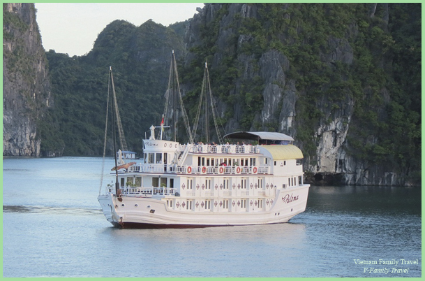 2DAYS 1NIGHT HALONG BAY CRUISE WITH PALOMA CRUISE