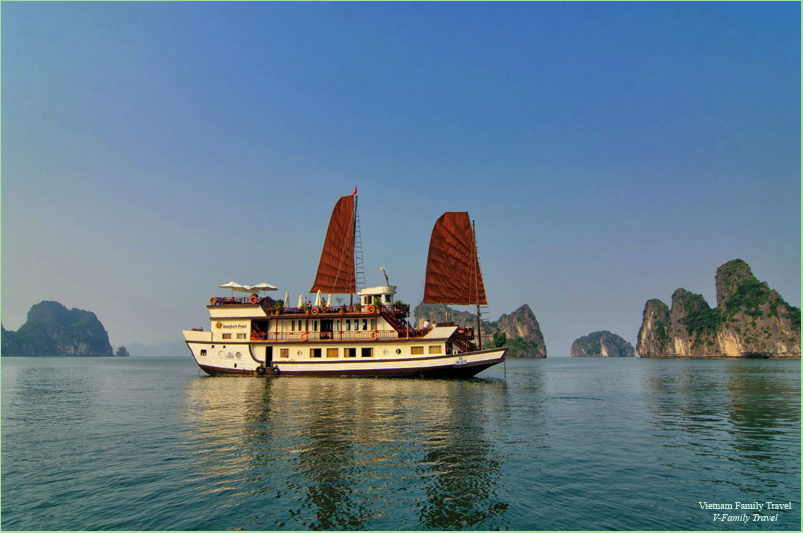 3 DAYS  2NIGHTS  HALONG CRUISE ON INDOCHINA SAILS