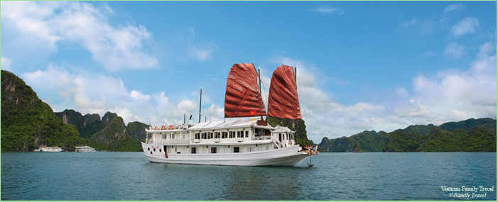 CRUISE HALONG BAY 3 DAYS 2 NIGHTS WITH INDOCHINA SAILS